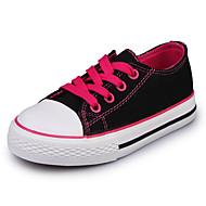tanie Obuwie dziewczęce-Dla dziewczynek Obuwie Płótno Wiosna lato Comfort Tenisówki na Purple / Fuchsia / Czerwony