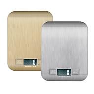 5kg de aço inoxidável digital lcd cozinha eletrônica cozinhar alimentos balanças