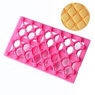 Bageværktøj Plastik Bagning Værktøj / Bryllup / Nytår Kage / Småkage / til Kage Cake Moulds 1pc