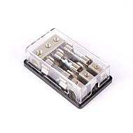 baratos -3 vias / 3x agu em linha de fusível suporte bloco de distribuição estéreo / áudio / carro 60a