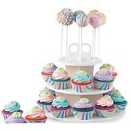 billige Bakeredskap-Bakeware verktøy Plastikker Multifunksjonell / Kreativ Kjøkken Gadget Dagligdags Brug / Til Småkaker Sirkelformet Stativer