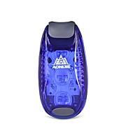 זול -פנסי אופניים LED רכיבת אופניים פשוט גשום תאורת לד נְשִׂיאָה 3 Lumens 3V לבן חם