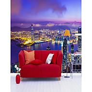 billige Tapet-Art Deco 3D Hjem Dekor Moderne Sceneri Tapetsering , Vinylal Materiale selvklebende nødvendig Veggmaleri , Tapet