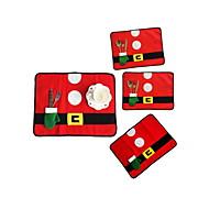 cheap Holiday Decorations-4pcs Christmas Decorations Christmas Ornaments, Holiday Decorations 33*45