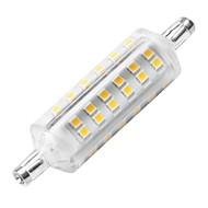 YWXLIGHT® 1pc 6W 500-600 lm R7S LED klipaste žarulje 72 LED diode SMD 2835 Ukrasno LED svjetla Toplo bijelo AC 220-240V