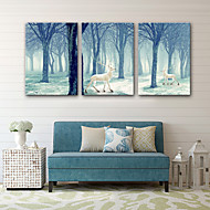 cheap Prints-Canvas Print Three Panels Canvas Vertical Print Wall Decor Home Decoration