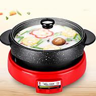 billiga Kök och matlagning-Elektrisk grill Multifunktion Japanskt Rostfritt Stål / Bunden termiska Spisar 220V Köksmaskin