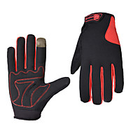 cheap -Sports Gloves Bike Gloves / Cycling Gloves Sports Gloves Keep Warm Wearable Breathable Anti-Shock Skidproof Full-finger Gloves Touch