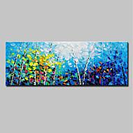 billiga Landskapsmålningar-Hang målad oljemålning HANDMÅLAD - Landskap Enkel Moderna Duk