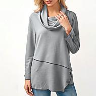 Majica s rukavima Žene Jednobojni Dolčevita