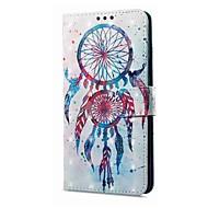 billiga Mobil cases & Skärmskydd-fodral Till Vivo X20 Plus X20 Korthållare Plånbok med stativ Lucka Magnet Mönster Fodral Drömfångare Hårt PU läder för vivo X20 Plus vivo