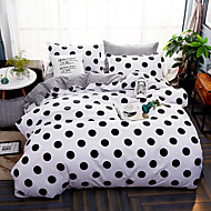 cheap Contemporary Duvet Covers-Duvet Cover Sets Floral Contemporary Poly / Cotton Reactive Print 4 Piece