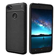 billiga Mobil cases & Skärmskydd-fodral Till Xiaomi Redmi not 5A Stötsäker Frostat Fodral Ensfärgat Mjukt TPU för Redmi Note 5A