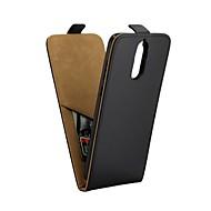 billiga Mobil cases & Skärmskydd-fodral Till Huawei Mate 10 pro Mate 10 lite Korthållare med stativ Lucka Fodral Ensfärgat Hårt PU läder för Mate 10 pro Mate 10 lite