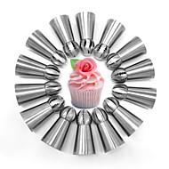 hesapli -Bakeware araçları Aluminyum Alaşım Pişirme Aracı Kek / Pişirme Kaplar İçin / Pasta Pasta Kalıpları 14pcs