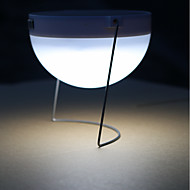 baratos Focos-1pç 3 W Luzes Solares LED Impermeável / Decorativa / Controle de luz Branco Frio <5 V Iluminação Externa 12 Contas LED