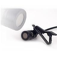 ミニポータブルクリップオンラペルラベリアハンズフリー3.5 mmジャックコンデンサー有線マイクマイク