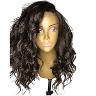 cheap Human Hair Wigs-Human Hair Brazilian Lace Wig Wavy Body Wave Natural Wave Glueless Lace Front With Baby Hair Unprocessed Side Part Natural Hairline 150%