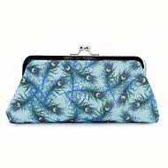 baratos Clutches & Bolsas de Noite-Mulheres Bolsas PU Bolsa de Festa Estampa Animal Azul Céu