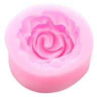 저렴한 -케이크 하나의 구멍 꽃 실리콘 몰드 퐁 당 금형 설탕 공예 도구 수지 꽃 몰드