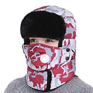 billige Luer & Skjerf-Ski Ansiktsmaske / Skelett Caps Unisex Varm Snowboard Bomull Kamuflasje Ski & Snowboard / Vandring / Sykling / Sykkel Høst / Vinter