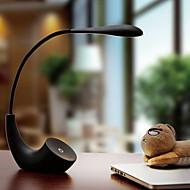 billige Skrivebordslamper-Moderne / Nutidig Øyebeskyttelse Skrivebordslampe Til Soverom Plast 220V Hvit Svart Rød