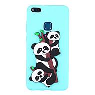 billiga Mobil cases & Skärmskydd-fodral Till Huawei P8 Lite (2017) P10 Lite Mönster Skal Panda Mjukt TPU för P10 Lite P8 Lite (2017) Huawei
