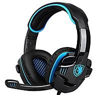 billiga Headsets och hörlurar-SADES 708GT Headband Kabel Hörlurar Piezoelektricitet Plast Spel Hörlur Stereo / mikrofon headset