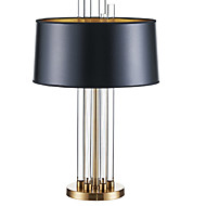 billige Lamper-Moderne Krystall Bordlampe Til Soverom Krystall Svart