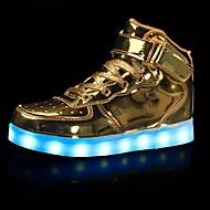 Ανδρικά Φωτιστικά παπούτσια Τούλι Άνοιξη / Φθινόπωρο Αθλητικά Παπούτσια Αντιολισθητικό Χρυσαφί / Ασημί / Κόκκινο