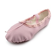 billige Ballettsko-Barne Tenåring Ballett Kunstlær Flate Flat hæl Rosa Kan spesialtilpasses