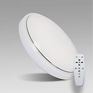 levne Stropní světla a větráky-Módní a moderní Ochrana očí Vestavná montáž Světlo dolů Pro Obývací pokoj studovna či kancelář Stmívatelné s dálkovým ovládáním 2400 -