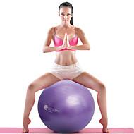 """baratos Acessórios de Ioga e Pilates-21 1/2"""" (55 cm) Bola para Exercícios Bola de Fitness À prova de explosão Ioga Equilíbrio Treinamento PVC"""
