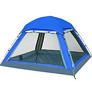 4 person Skärmtält Skärmhus Utomhus Vattentät UV-skydd Singellager Stång Kupol Tält för Camping Resa