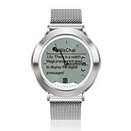 tanie Inteligentne zegarki-YY-M6 na Android 4.4 / iOS Spalone kalorie / Współpracuje z iOS i system Android. / Powiadamianie o wiadomości / Powiadamianie o połączeniu telefonicznym / Kontrola APP Pulsometr / Stoper / Budzik
