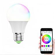 1kpl 4.5W 450-480lm E27 E26 LED-älyvalot 4 LEDit SMD 5050 Himmennettävissä WIFI Smart Toimii Amazon Alexan kanssa RGB + valkoinen