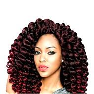 Rajouts de Tresses Boucle rebondissante Crochet Hair Braids Cheveux Synthétiques 20 racines / paquet, 1pack Cheveux Tressée A Ombre Court Nouvelle arrivee