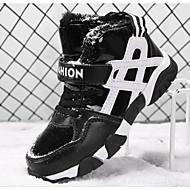 baratos Sapatos de Menino-Para Meninos Sapatos Courino Primavera / Outono Conforto / Botas de Neve Botas para Preto / Azul / Botas Curtas / Ankle