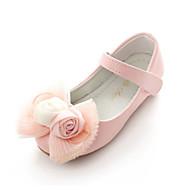 baratos Sapatos de Menina-Para Meninas Sapatos Couro Ecológico Primavera Conforto / Inovador / Sapatos para Daminhas de Honra Rasos Laço / Apliques / Velcro para