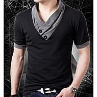 Majica s rukavima Muškarci Vikend Jednobojni V izrez