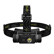 cheap Flashlights & Camping Lanterns-Nitecore HC60 Headlamps LED 1000lm Manual / 8 Mode with Battery Portable / Skype / Water Resistant / Water Proof Camping / Hiking /