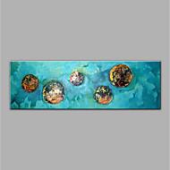 Χαμηλού Κόστους most popular-Hang-ζωγραφισμένα ελαιογραφία Ζωγραφισμένα στο χέρι - Αφηρημένο Μοντέρνα Καμβάς