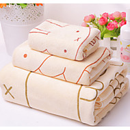 billige Hjemmetekstiler-Frisk stil Badehåndkle, Mote Overlegen kvalitet Polyester/Bomull Polyesterblanding Håndkle