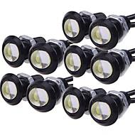 billiga Billampor-10pcs Glödlampor 9W Högprestations-LED 1 Varselljus For Universell General Motors Alla år