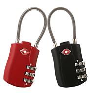 billige Tastelåser-yuhuaze bagasje kryptering hengelås 3 digital krypteringslås for skap / treningsstudio&sport skap / skuff et par klær