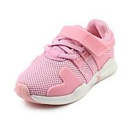 baratos Sapatos de Menino-Para Meninos / Para Meninas Sapatos Tule Outono Conforto Tênis Velcro para Preto / Rosa claro
