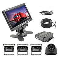 billiga Parkeringskamera för bil-7 inch TFT-LCD Bil baksidesats för Bilar