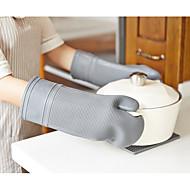Χαμηλού Κόστους Μοναδική κουζίνα & τραπεζαρία-Εργαλεία κουζίνας Silica Gel Φορητά Κάτοχος Ποτ & Φούρνος Mitt 1pc