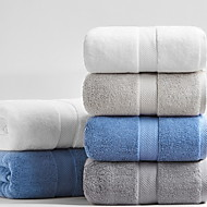 cheap Towels & Robes-Fresh Style Bath Towel, Solid Superior Quality 100% Cotton 100% Cotton Percale Towel