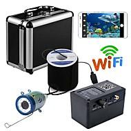 billige Overvåkningskameraer-hd wifi trådløs 30m undervannsfiske kamera videoopptaker for ios android app støtter videoopptak og ta bilde med 1000tvl kamera
